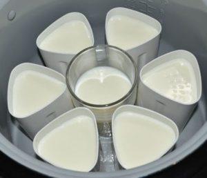 Мультиварка с баночками для йогурта